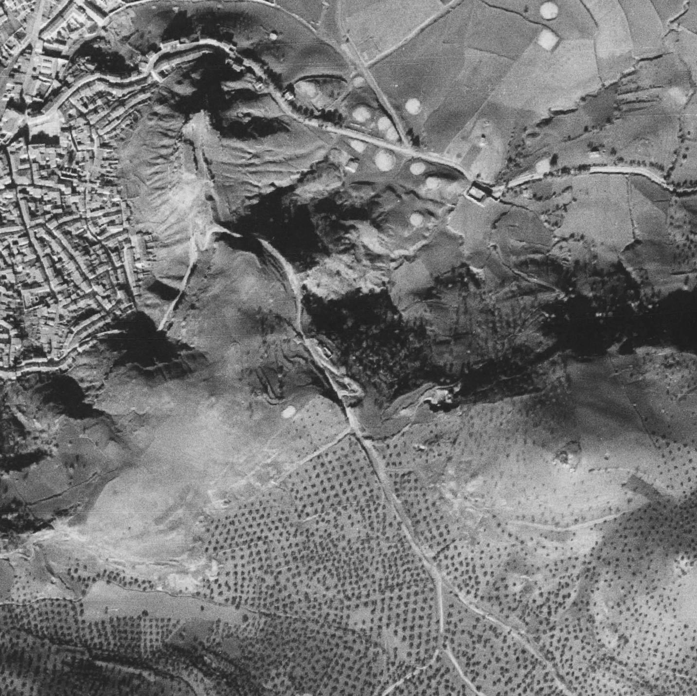 Vista Aérea 1945 - Santisteban S.E.