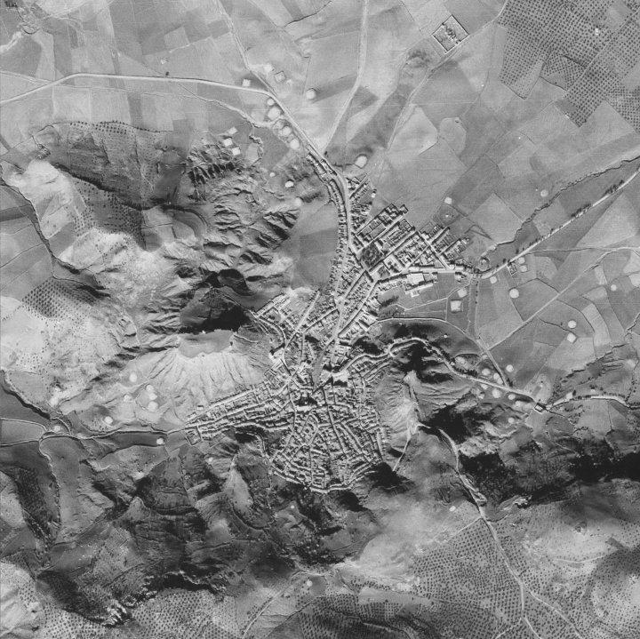 Vista Aérea 1945 - Santisteban