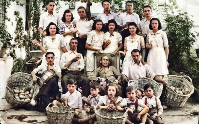 Mayordomía 1942-1943. Día de Las Canastas Informante: Jacinto Mercado