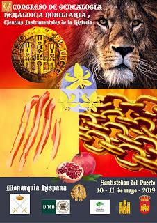V Congreso de Genealogía, Heráldica y Nobiliaria.