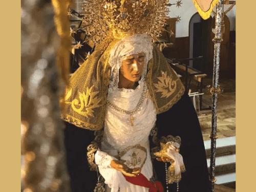 Portada de Cruz Nazarena 2019 por Javier Arcos Cámara