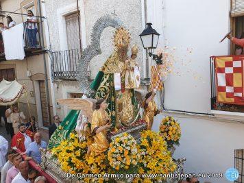 Bajada de la Virgen por Carmen Armijo