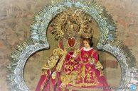 Sma. Virgen del Collado en su templo tras la procesión del Lunes de Pentecostés 2019