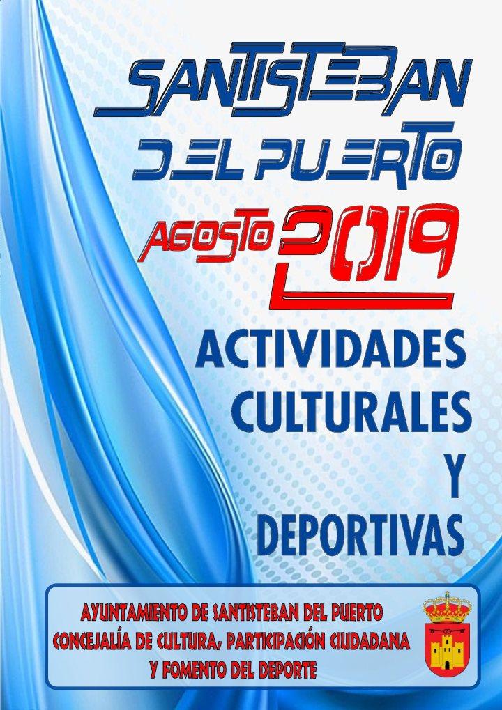 Actividades Culturales y Deportivas - Agosto 2019 -Santisteban (1)