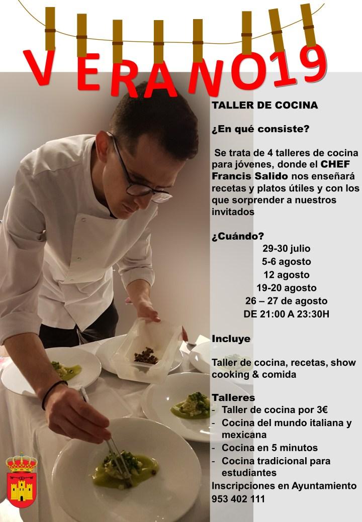 Taller de cocina 2019