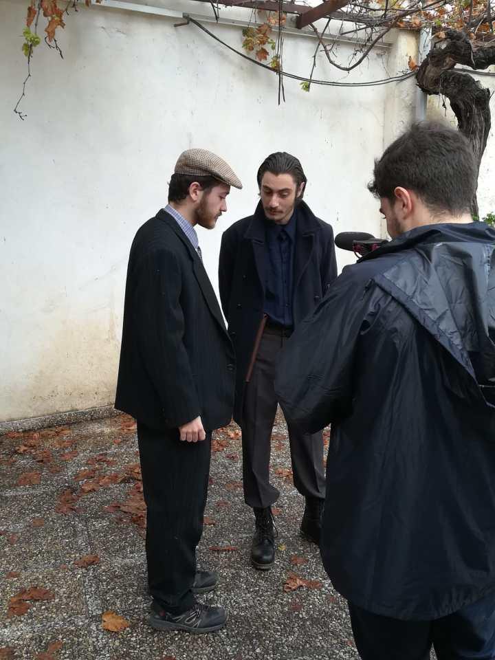 """Fotografía del rodaje del corto """"AURORA"""" por Guillermo Parrilla"""