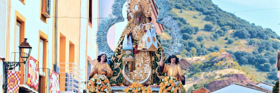 Procesión de la Virgen del Collado. Vísperas de Pentecostés 2019