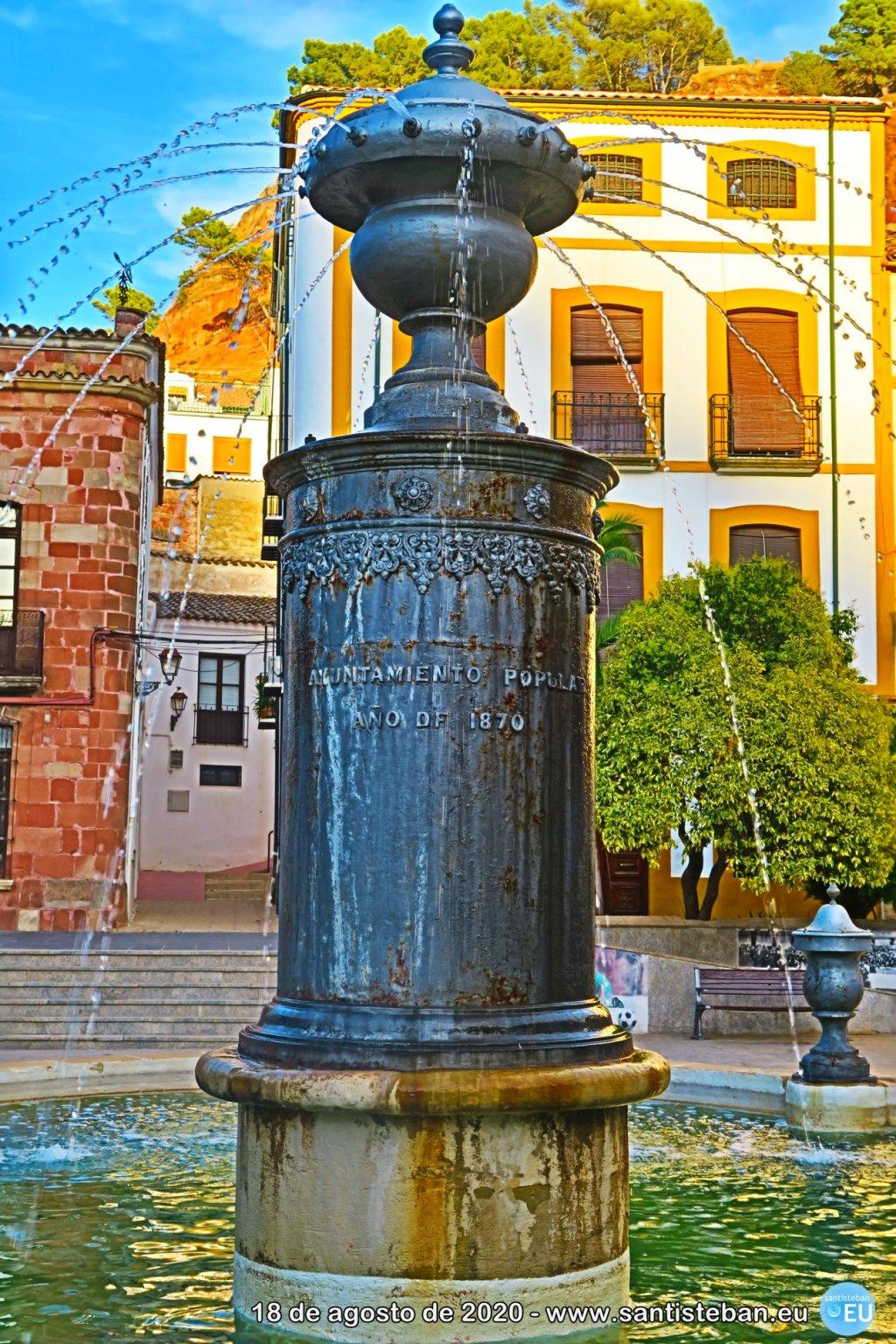 Pilar de la plaza Mayor