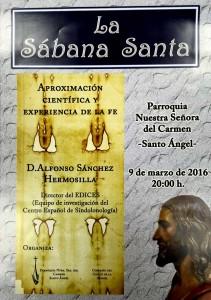 Exposición La Sabana Santa en la Parroquia de Santo Ángel