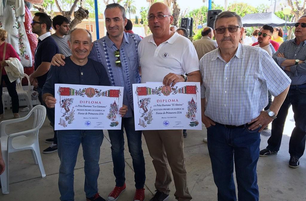 Segundo premio peña El Almirez de Santo Ángel