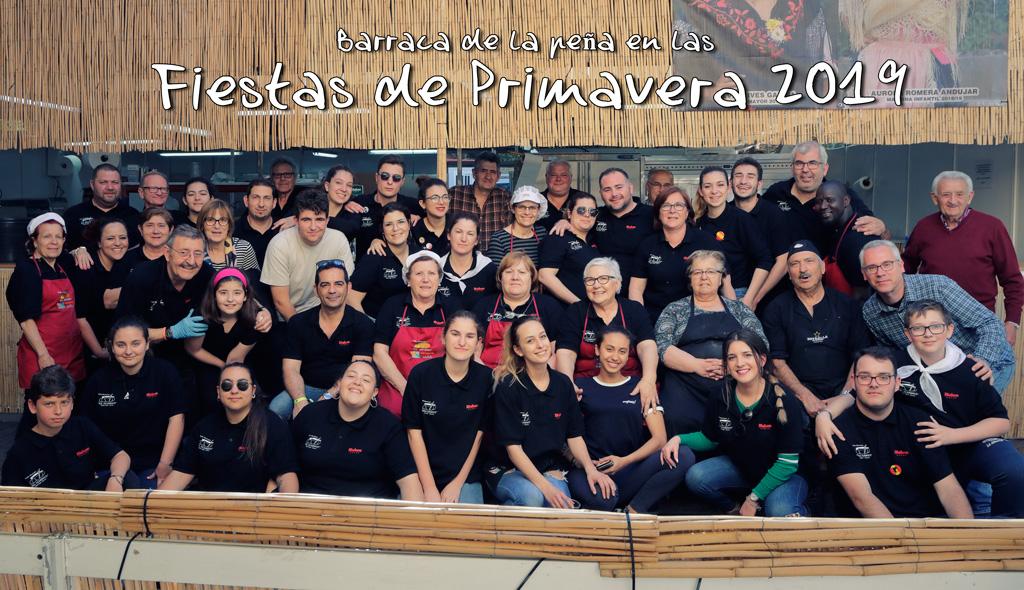 Fotografía grupo Fiestas de Primavera 2019