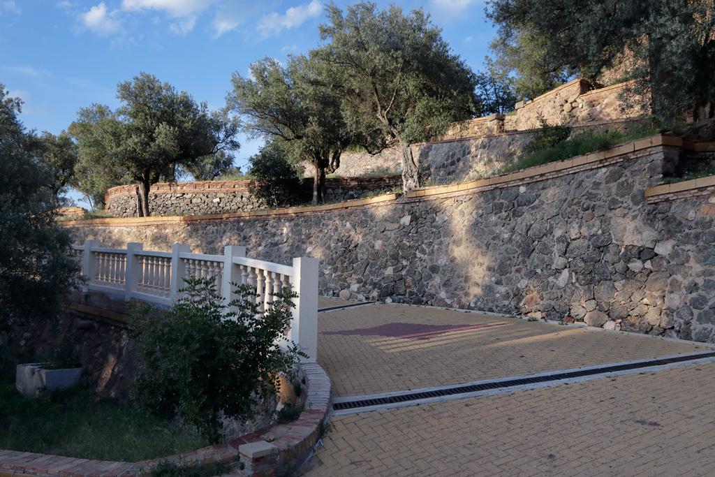La subida peatonal al Santuario de la Fuensanta