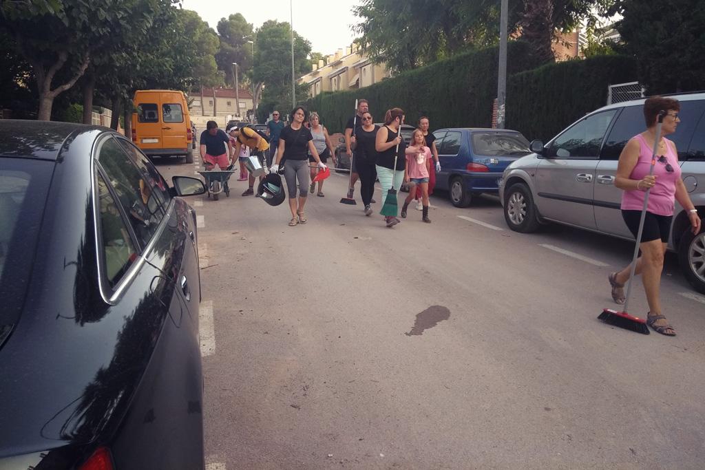Final limpieza calle Salzillo