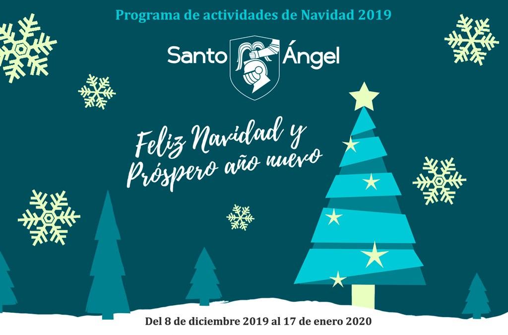 Programa de actividades de Navidad 2019