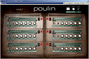 Heavy Guitar Tone how to - Poulin LeCab 2 settings