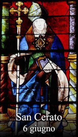 sveti Cerat - škof