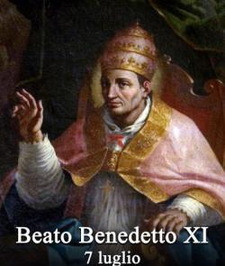 blaženi Benedikt XI. - redovnik in papež