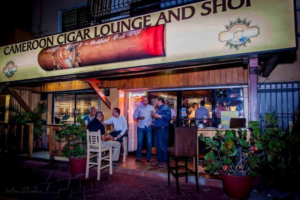 Cameroon-Cigar Lounge Santo Domingo