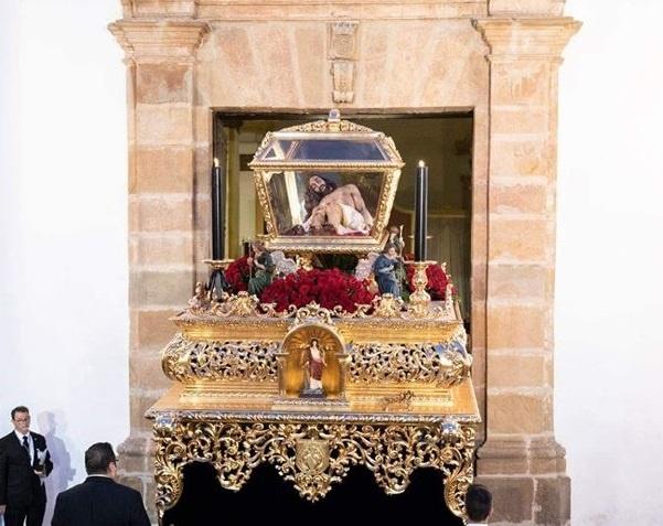 Francisco Vigo del Pino realizará la primera levantá del paso del Cristo Yacente el próximo Viernes Santo