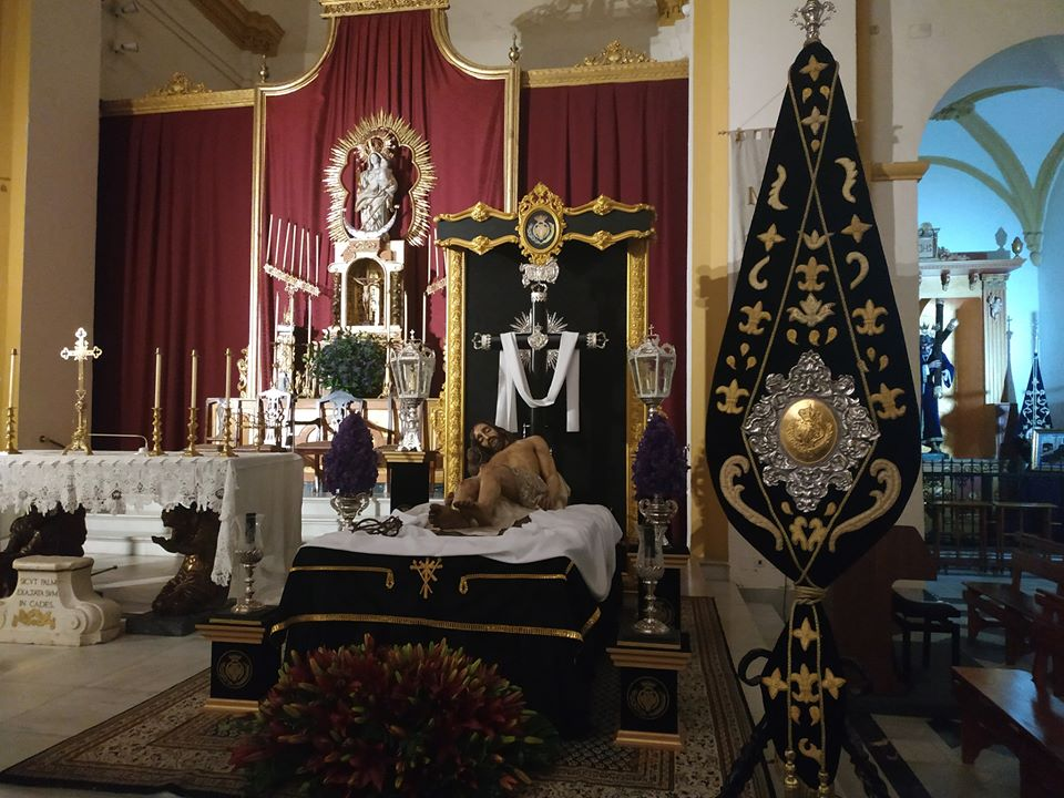 Semana de cultos al Cristo Yacente