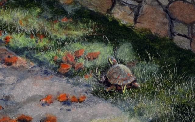 Detail of Turtle Crossing