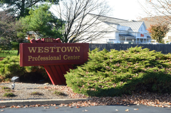Located on West Chester Pike (Route 3) near route 352, between the Rite Aid and the Wawa.