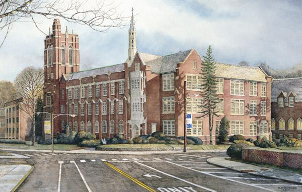 University Art Prints LaSalle University Santoleri University Prints