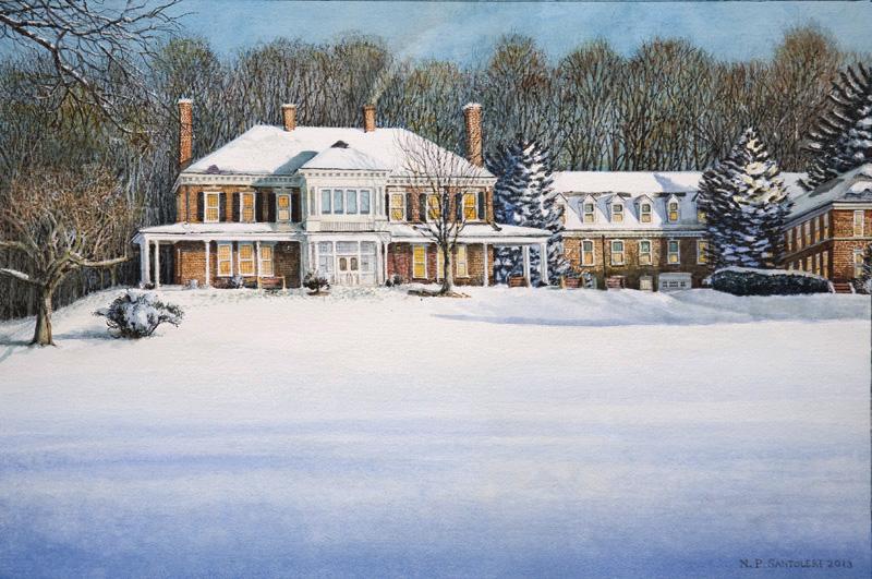 Malvern Retreat House - Nicholas Santoleri, Realism Artist