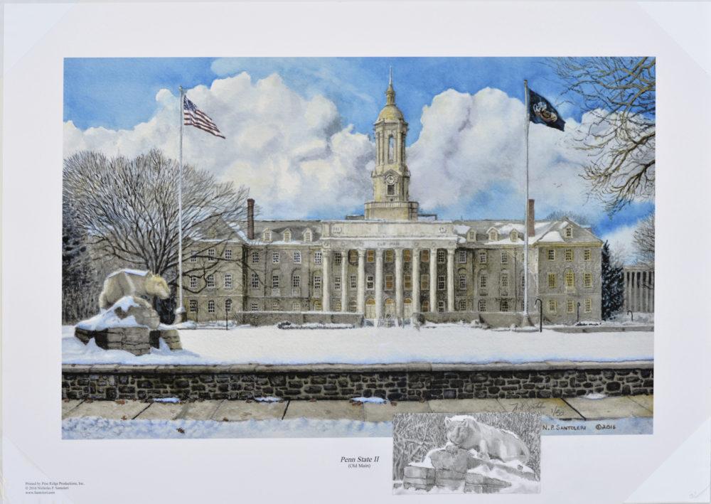 Penn State Remarqued Print