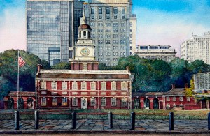 Independence Hall in Progress 15