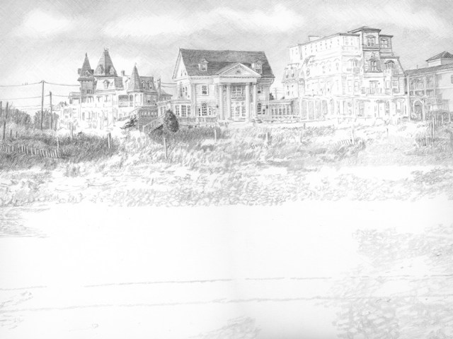 Cape May Drawing in progress 02