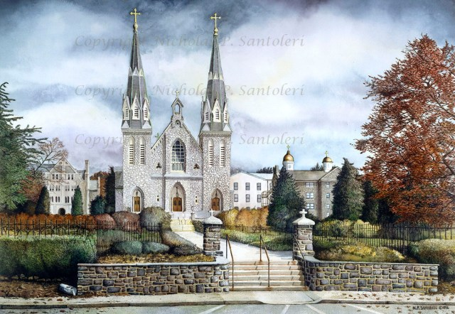 Saint Thomas of Villanova (2) by Nicholas Santoleri