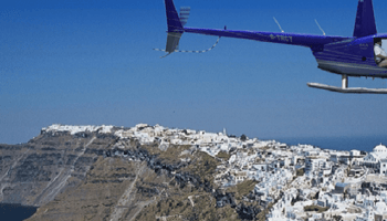 Vol Helicoptere Santorin