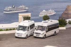 Santorini Shared Ride Van Services - Santorini Airport Shuttle Eapress