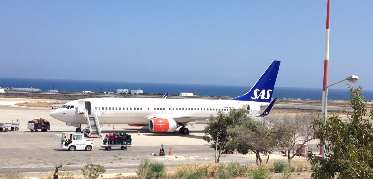 Santorini Thira JTR Airport