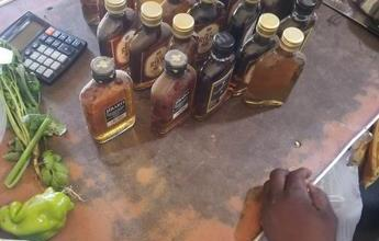 Photo of PN incauta garrafones y botellas de bebidas adulteradas en la región norte