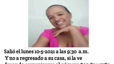 Photo of Reportan  mujer desaparecida  en Montecristi