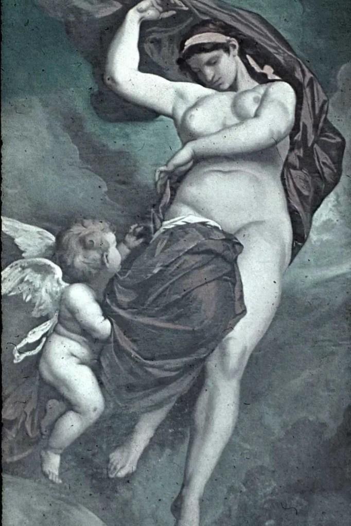 Gaia por Anselm Feuerbach, 1875
