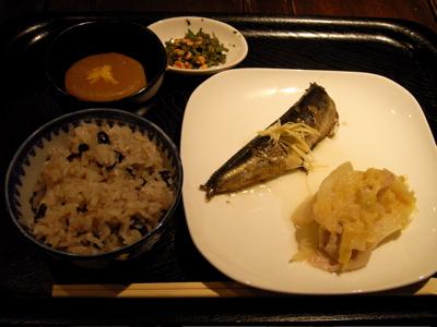 ひとひ落語会:お食事