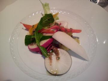 リストランテ divo-diva:野菜のアンティパスト