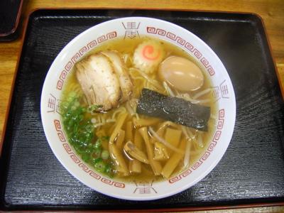 さくら製麺:中華そば+煮玉子