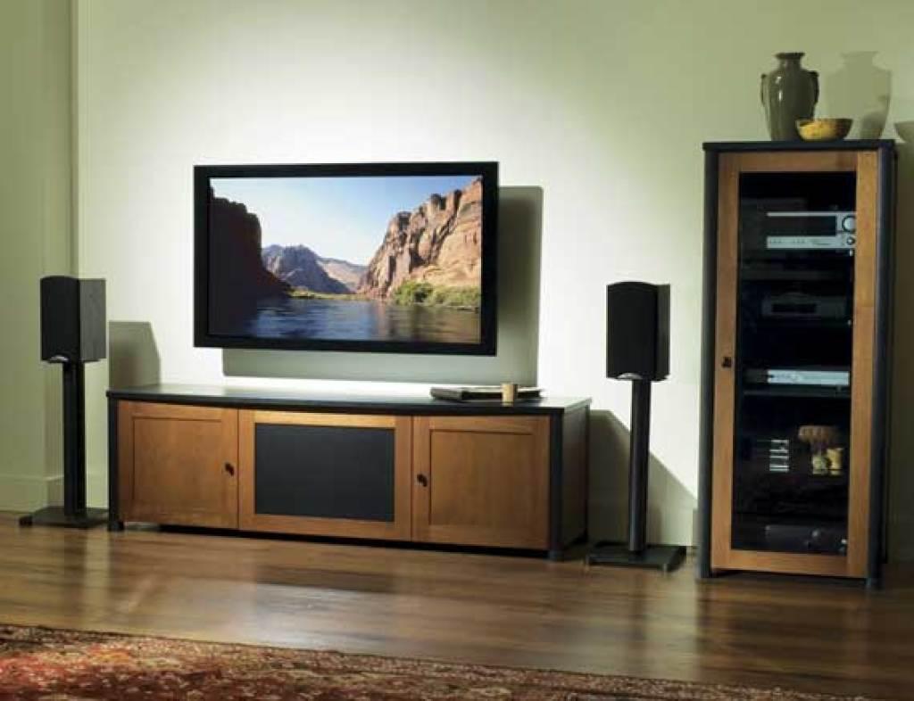 """sanus 26"""" steel series 26 bookshelf speaker stand - pair"""