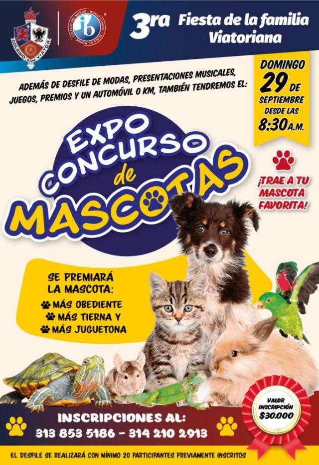 Expo concurso de mascotas colegio san viator de tunja.