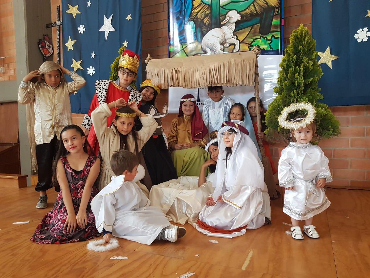 Llegó la Navidad al Colegio San Viator
