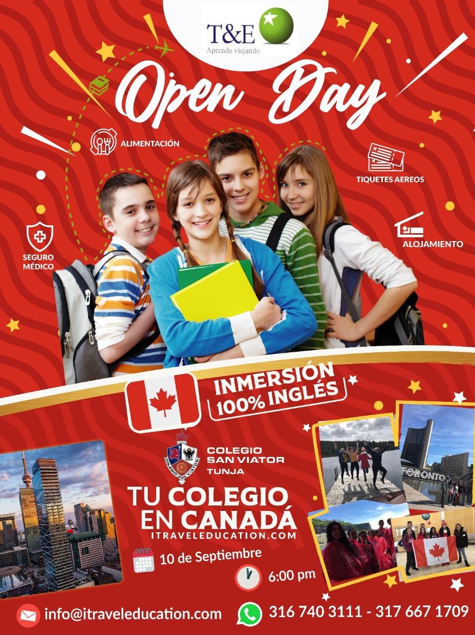 No te pierdas el Open Day de Travel and Education