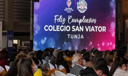 Celebración quinto aniversario del Colegio San Viator de Tunja