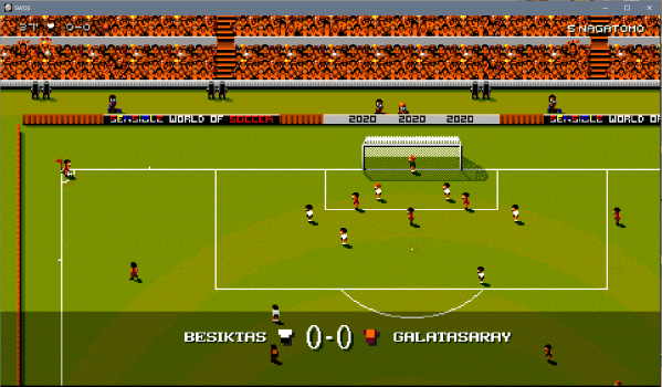 Besiktas Galatasaray Sensible Soccer 2020