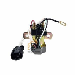 PC120-5 Solenoid Valve, PC60-5 Solenoid Valve,PC200-6 Solenoid Valve,6D102 Solenoid Valve Coil,Komatsu Starter Relay, PC600-8 Starter Relay