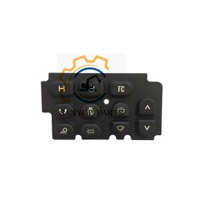 Kobelco Monitor Rubber keypad SK200-2 Monitor Button