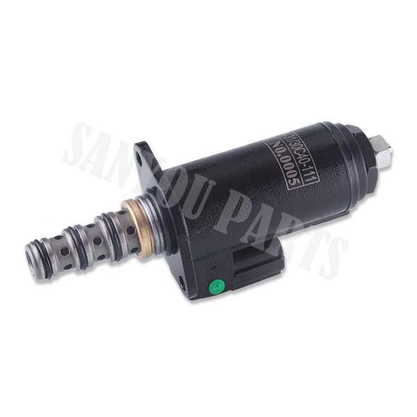 Kobelco hydraulic pump solenoid valve YN35V00018F2 KDRD5K-31130 C40-111